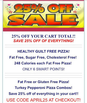 Pizza Free Sale!! 6 Smart Points & 6 Points Plus!!!