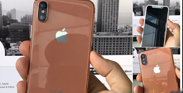 Bronze/Copper Gold Variants Of iPhone 8  leaked in more detail