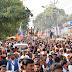 रामपुरा से भाजपा प्रत्याशी के जुलूस में उमड़ा जन सैलाब