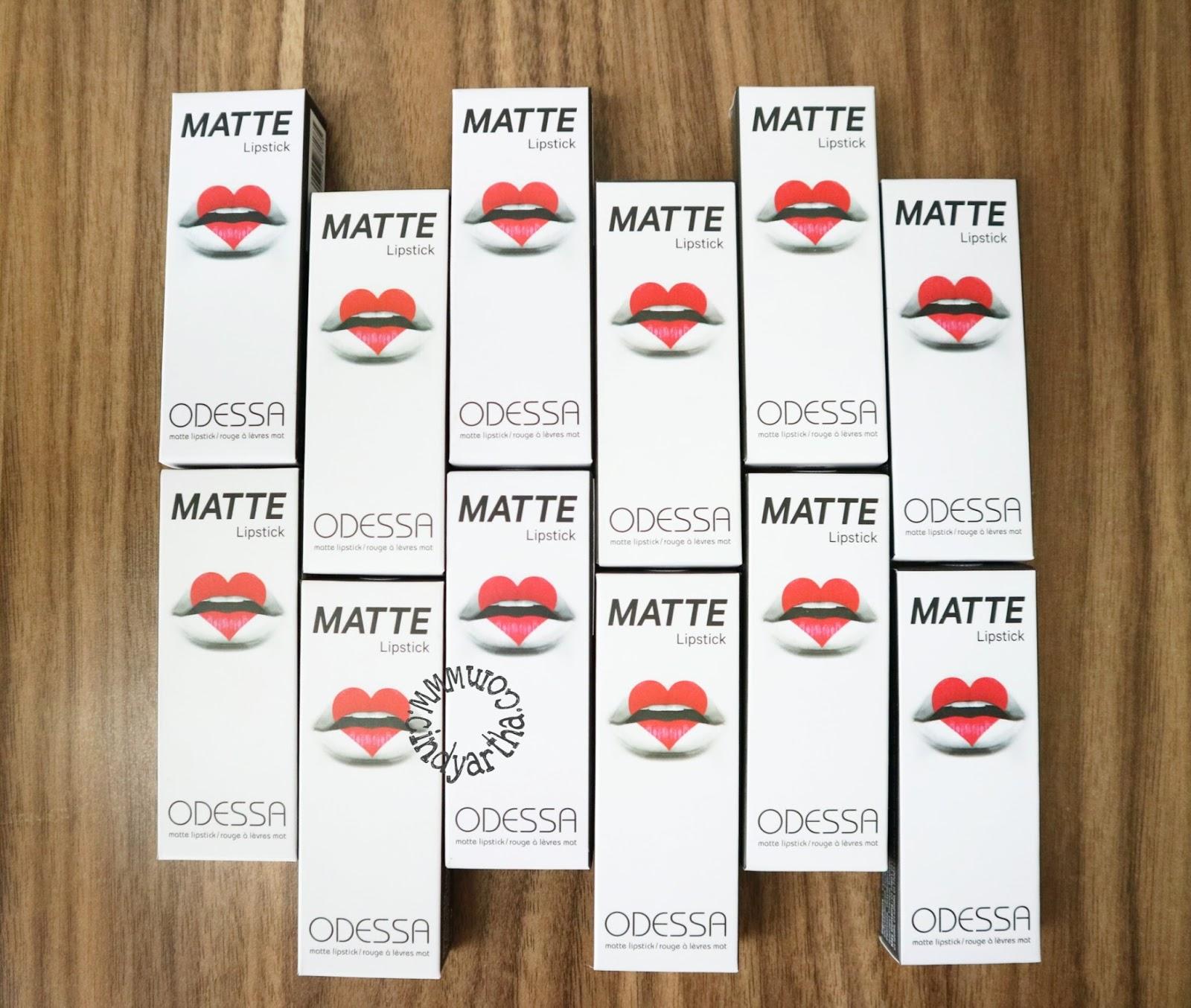 Odessa Matte Lipstick All Shades