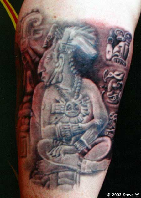 eebd14e8987f6 Creative Tattoo Designs: Aztec Tattoo New Bern Nc