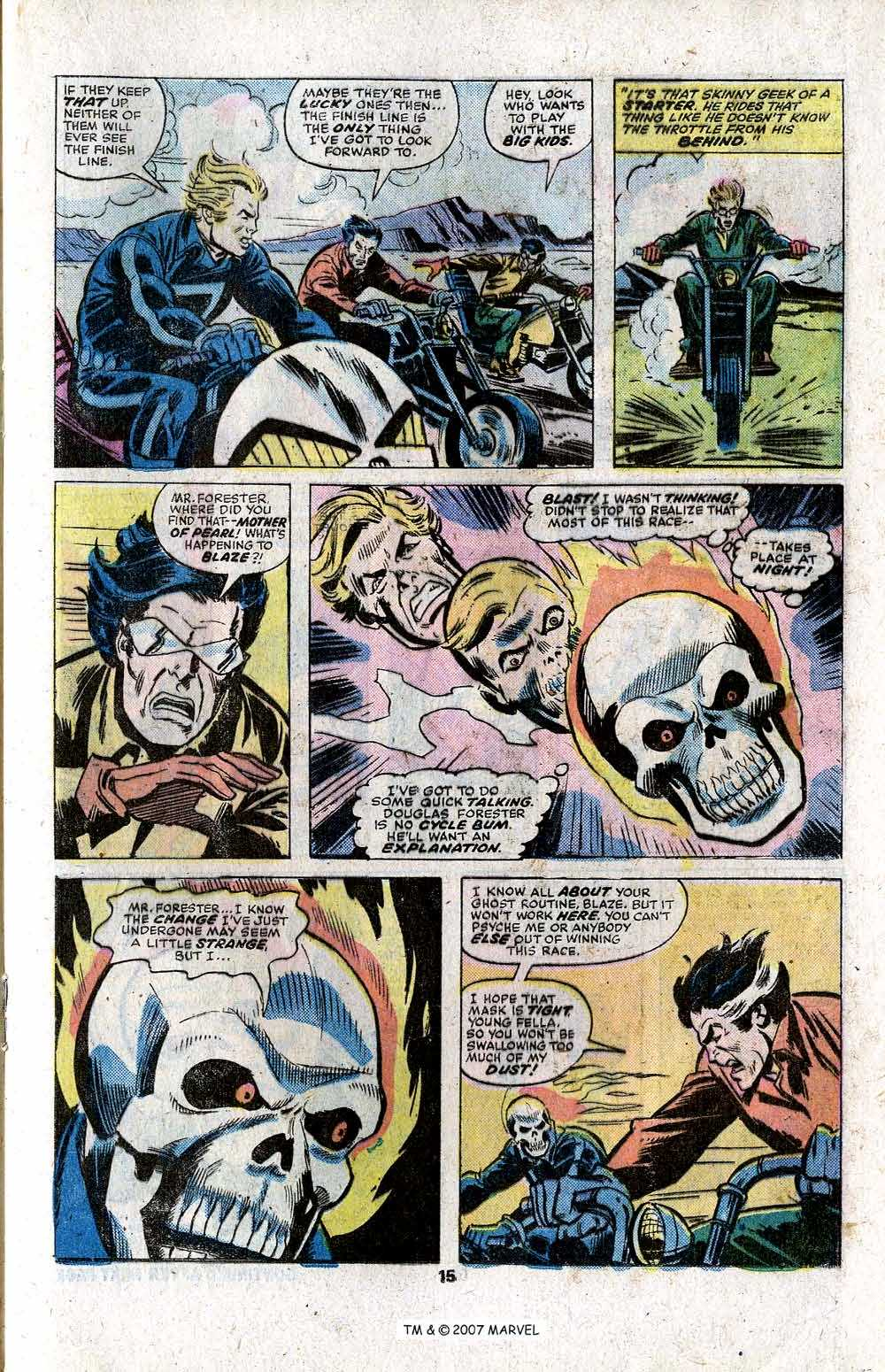 Ghost Rider (1973) Issue #11 #11 - English 17
