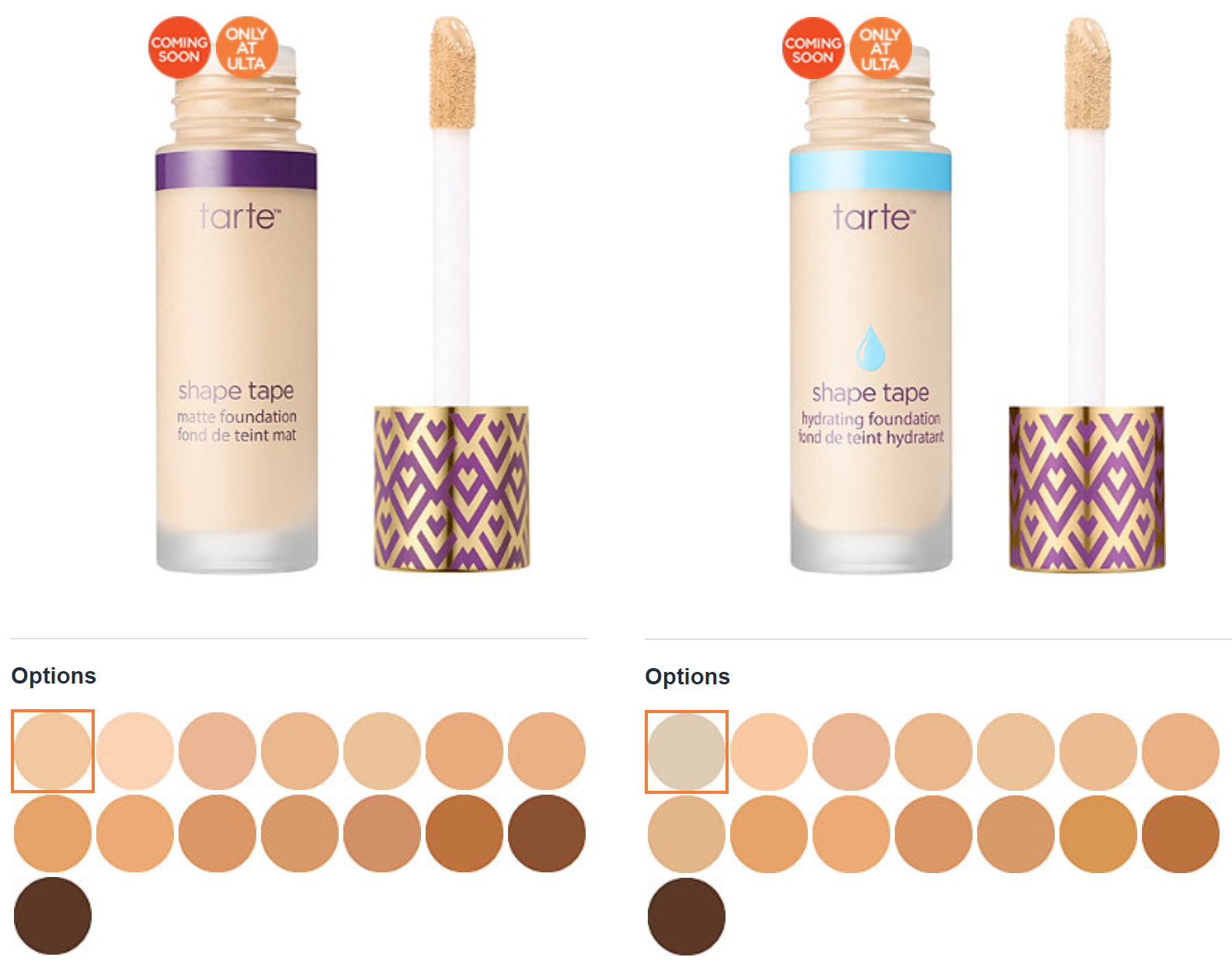 Not One But Two Tarte Shape Tape Foundations Are Headed