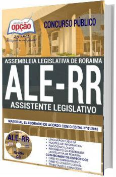 Apostila ALE-RR 2018 Assistente Legislativo