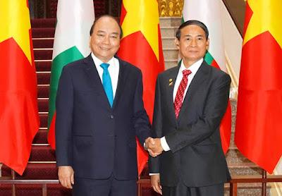 Vietnam - Myanmar