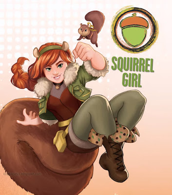 Marvel Rising Secret Warriors Animated Film Squirrel Girl