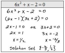 Edu Technology and Algebra: Algebra: Solving Quadratic