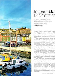 Cobh,Ireland Page 47. Travel story by Janie Robinson, Travel Writer