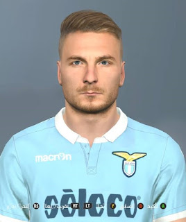PES 2018 Faces Ciro Immobile by Facemaker Ahmed El Shenawy