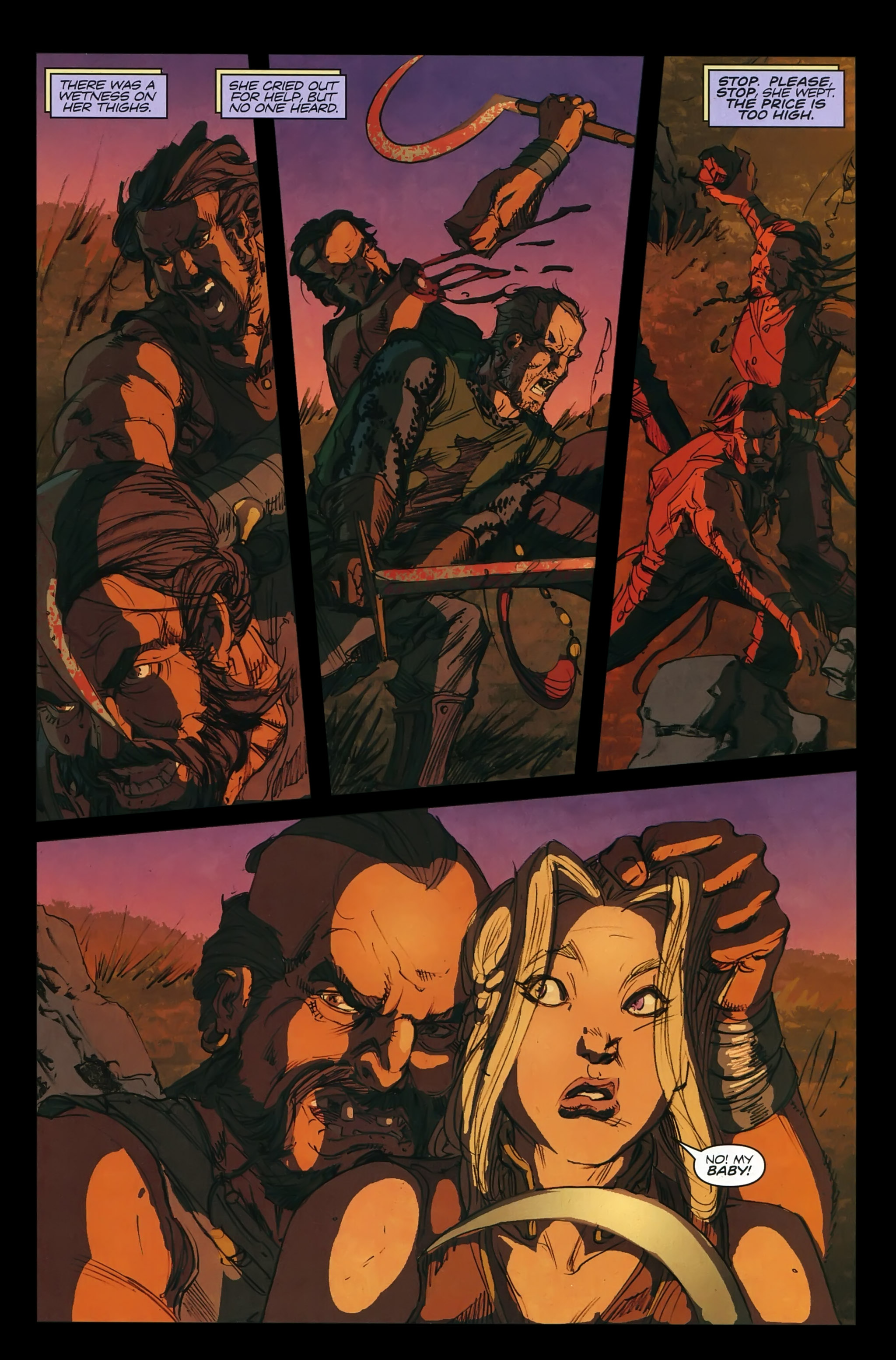 Read online A Game Of Thrones comic -  Issue #22 - 29