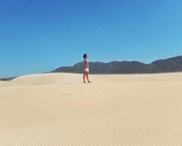 La Donna en el duna de Punta Paloma