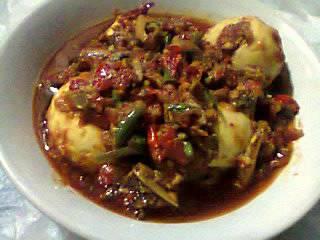Resep telur sambel teri super pedas ala rumah makan ciwidey