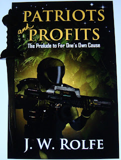 Portada del libro Patriots and Profits, de J. W. Rolfe