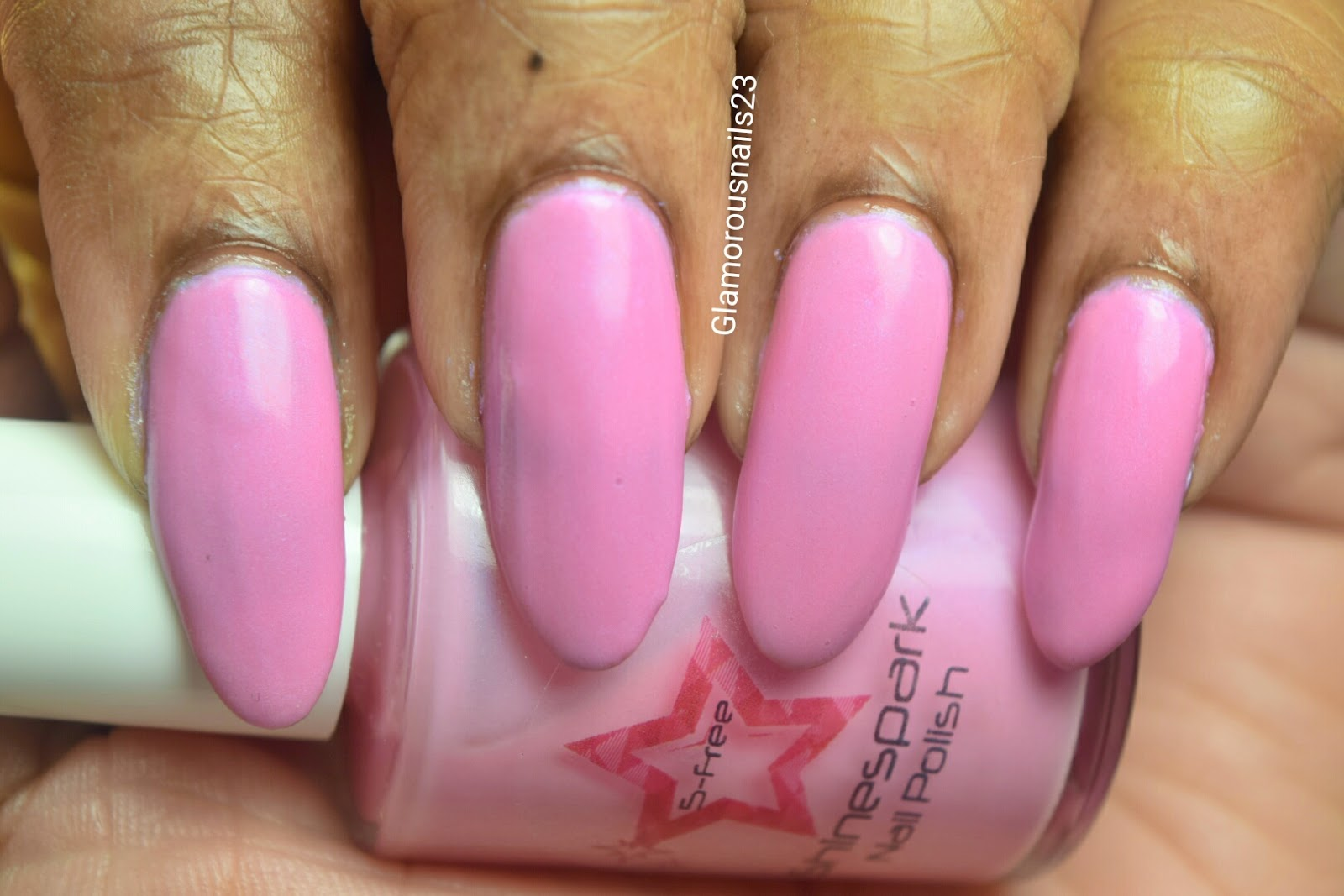 Shinespark Polish Flamingo Swatch