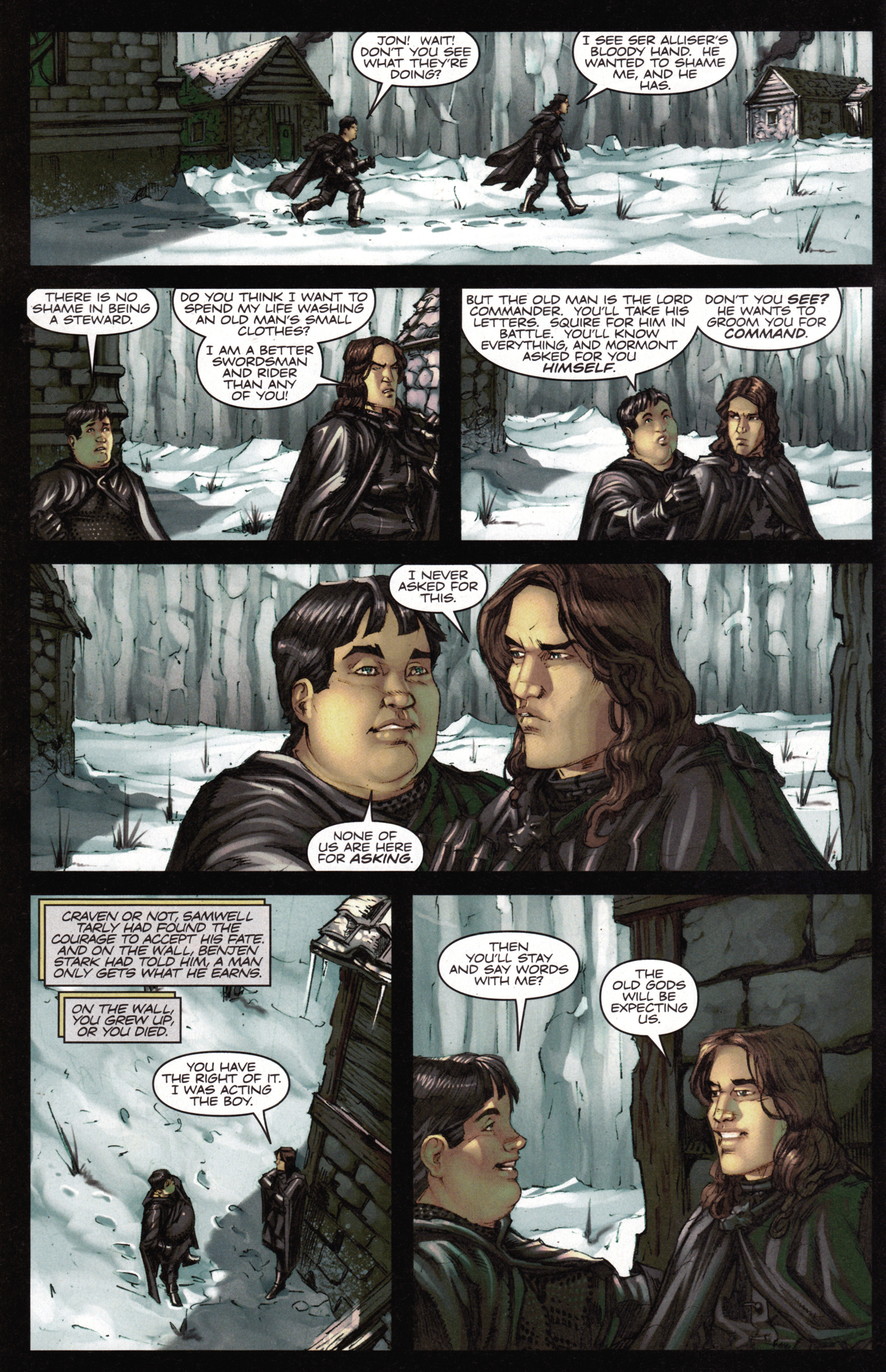 Read online A Game Of Thrones comic -  Issue #15 - 8