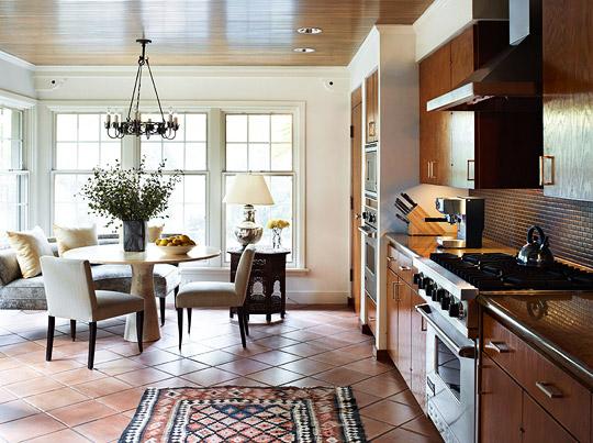 New home interior design spanish colonial house with calm - Colonial style homes interior design ...