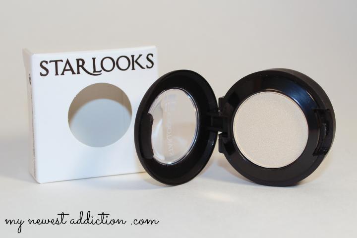 wantable january 2014 makeup subscription box starlooks eyeshadow pearl mac dupe