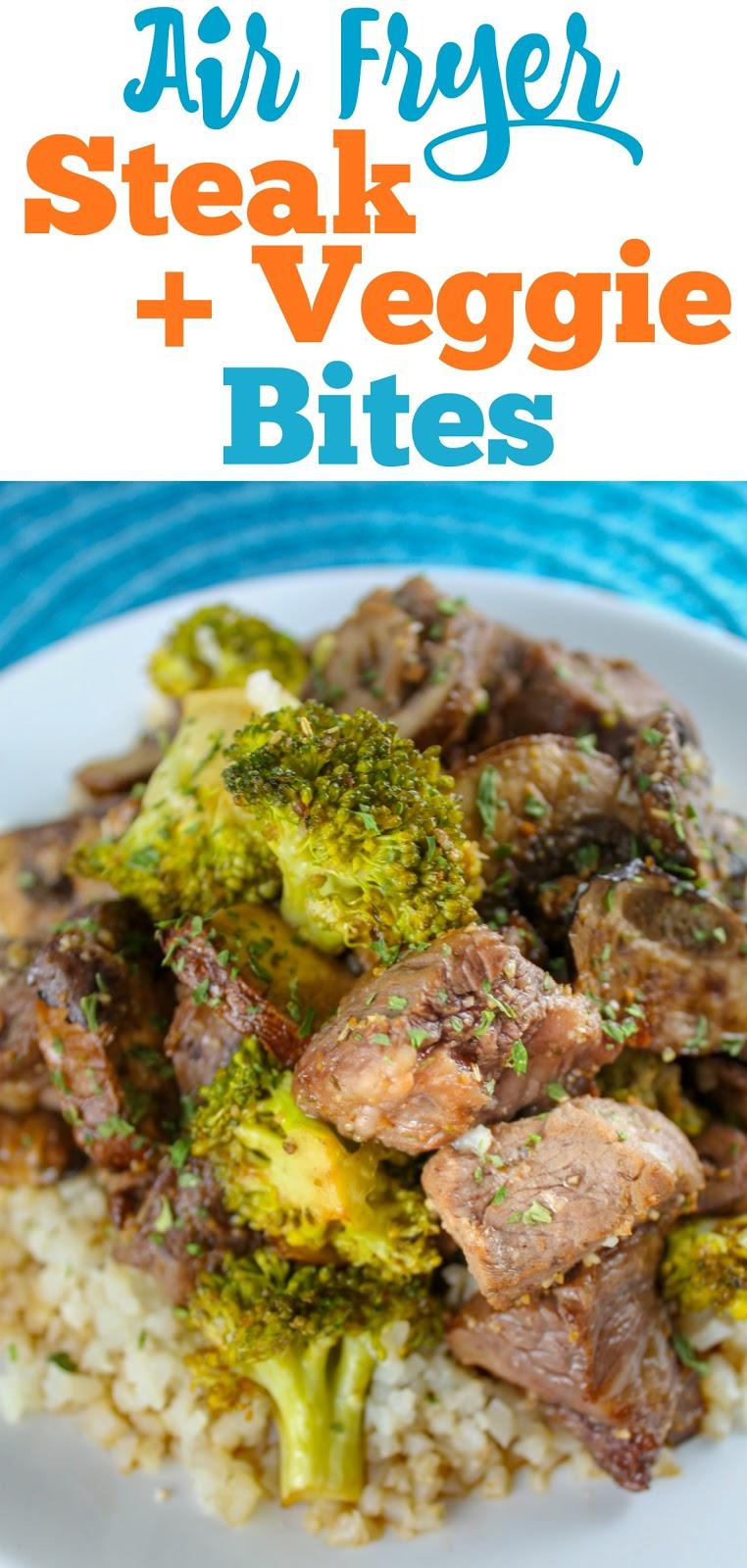 Food Hussy Recipe Air Fryer Keto Steak Veggie Bites The Food