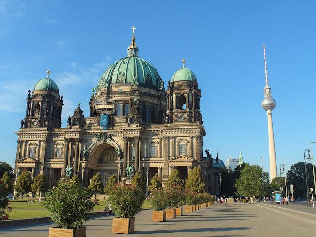 Berlin med cykel