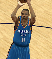 NBA 2K12 Russell Westbrook Cyberface