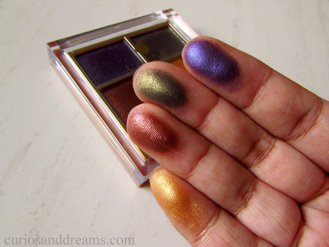 Lakme 9-to-5 Eye Color Quartet Tanjore Rush, Lakme Tanjore Rush, Lakme Tanjore Rush review