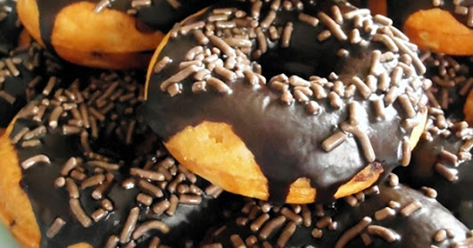 Chocolate Chip Donuts Using a Donut Maker