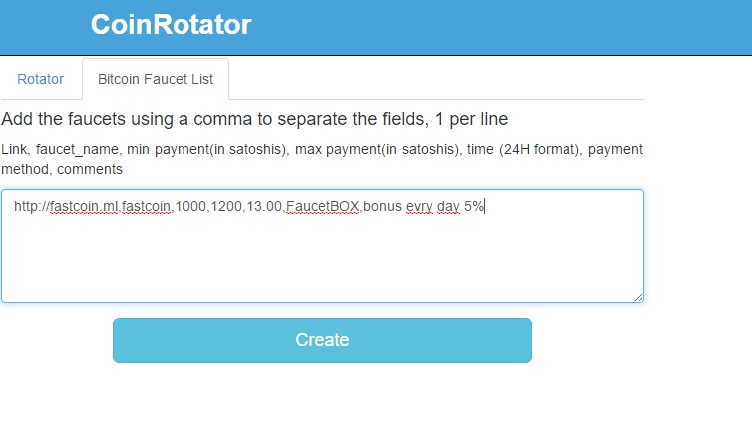 دولاة الربح 2 : انشاء موقع rotator لجمع الساتوشي coinrotator