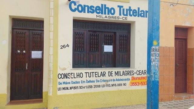 Conselho Tutelar de Milagres suspende temporariamente os trabalhos: Prefeitura emite nota