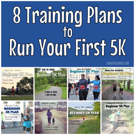 Training Plans to Run Your First 5K