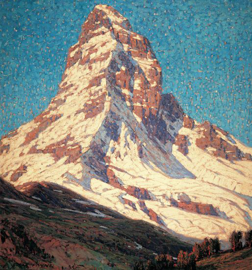 The Matterhorn by Edgar Payne