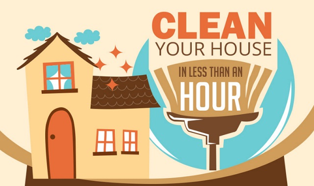 Cleaning Your Home in Less Than an Hour