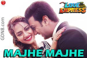 MAJHE MAJHE – Love Express  Dev & Nusrat Jahan