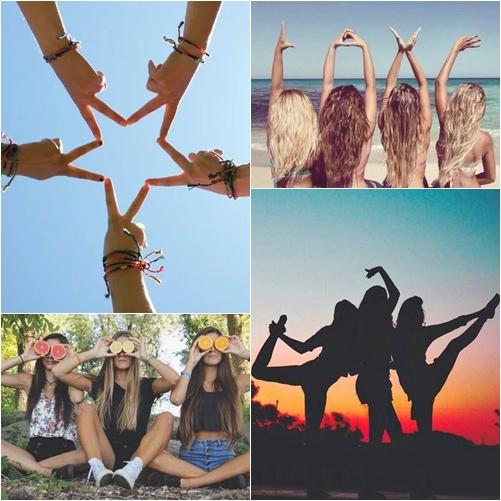 Inspiração:Fotos com Amigas-Blog Garota Estrela