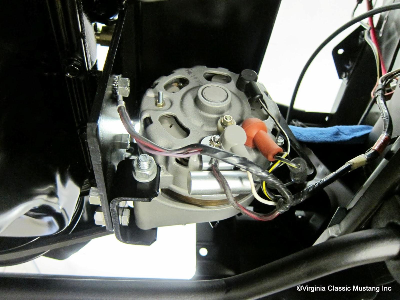 65 mustang engine wiring