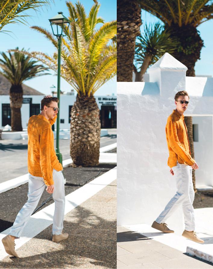 Look Masculino Amarelo Estiloso Cores para Verao 2019 na Moda Masculina