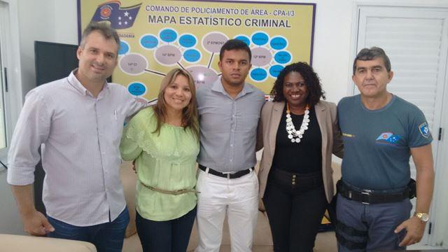 Daniel Heringer (E) da Secap partiicpou da abertura. Foto: Agência de Notícias do Maranhão