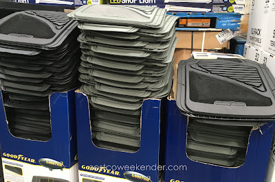 Keep dirt away with the Goodyear Carpet Rubber Floor Mats