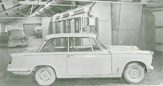 Byatts of Fenton Triumph Herald image from STR 03-1965