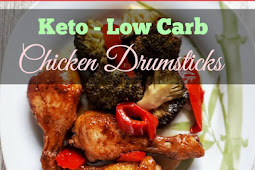 Keto Low Carb Chicken Drumsticks