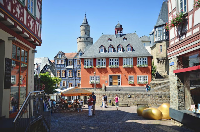 We Took the Road Less Traveled: Idstein, Germany