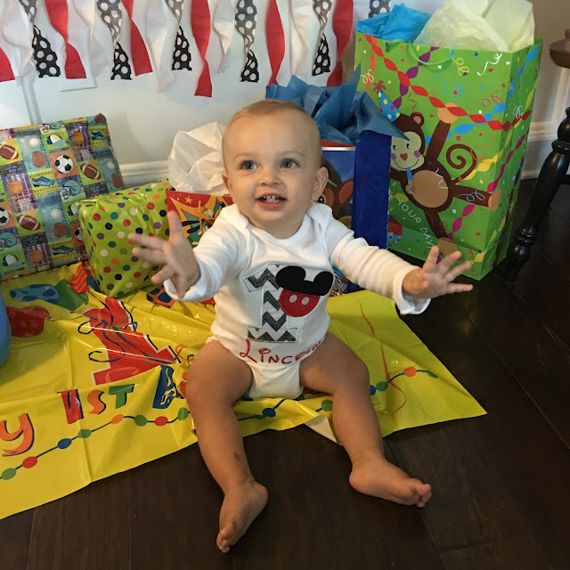 Mickey Mouse Birthday Party, 1st Birthday