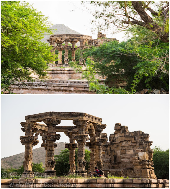 Kiradu temple complex