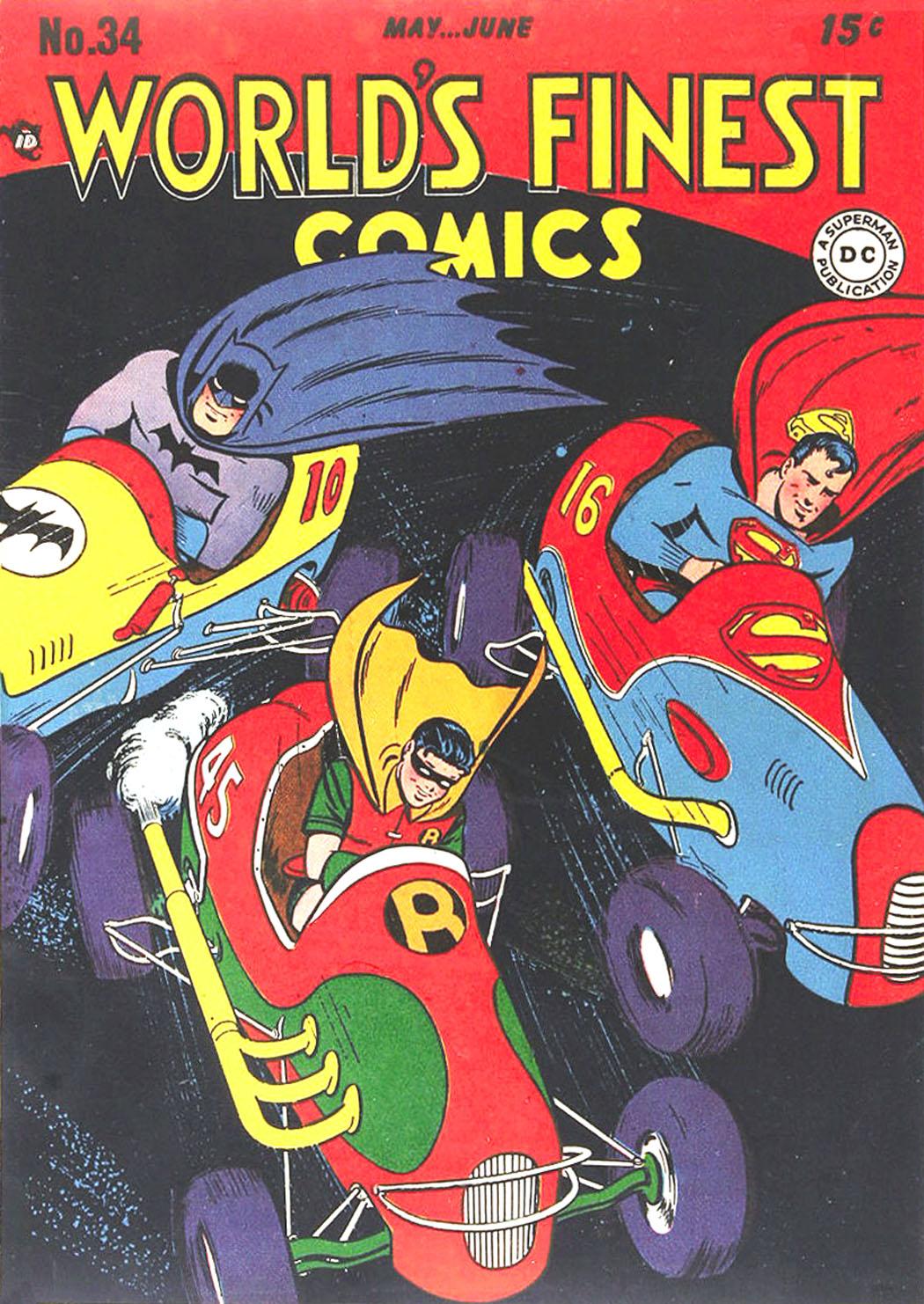Read online World's Finest Comics comic -  Issue #34 - 1