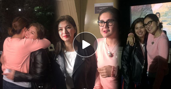 Angel Locsin Hosted A Block Screening For 'My Perfect You' To Support Dimples Romana