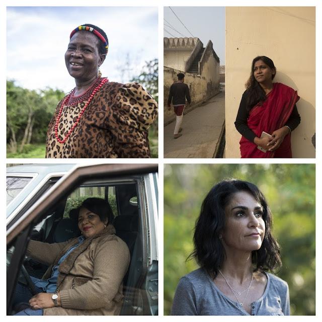 Fotos von 4 Frauen