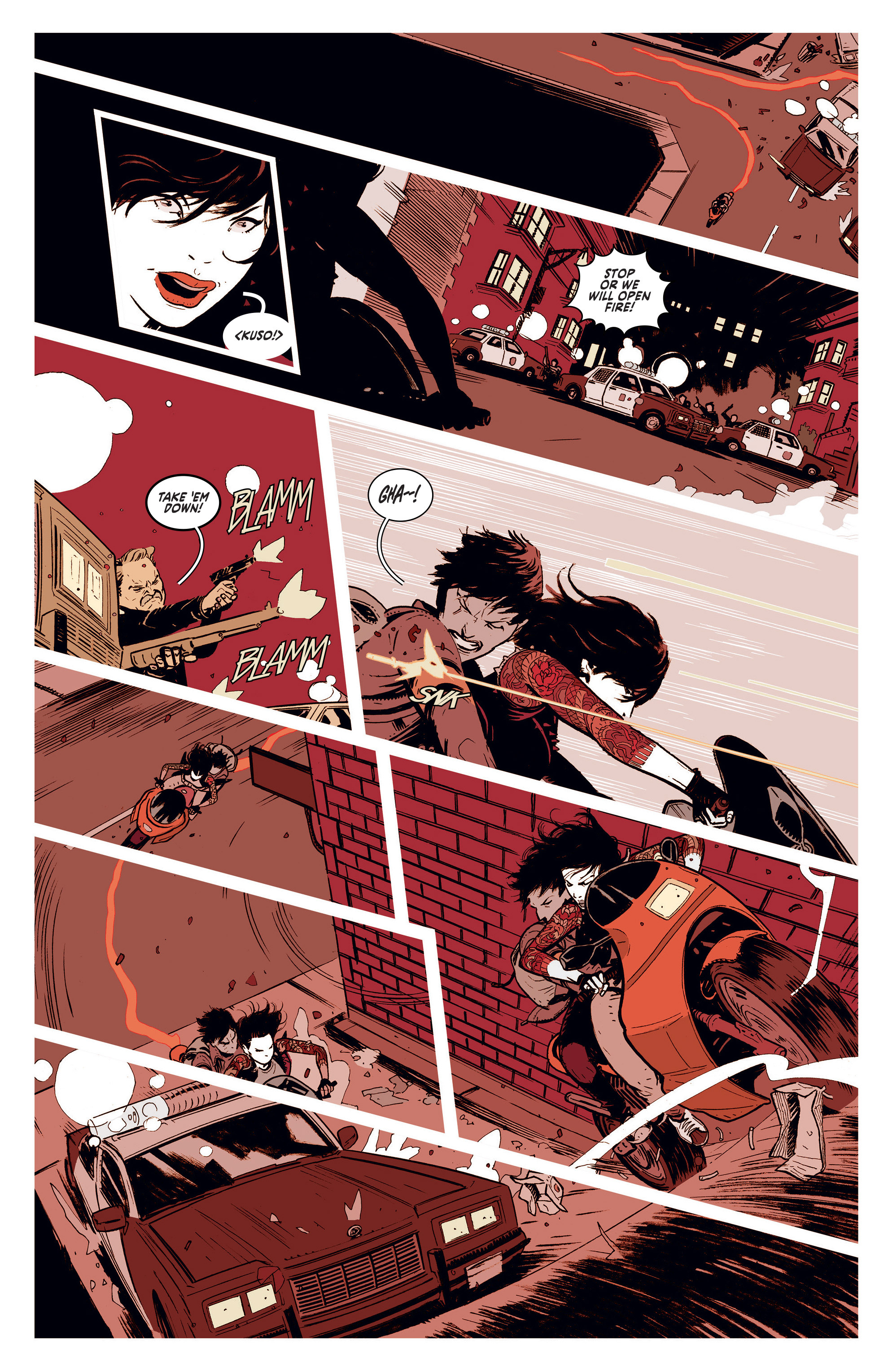 Read online Deadly Class comic -  Issue #1 - 17
