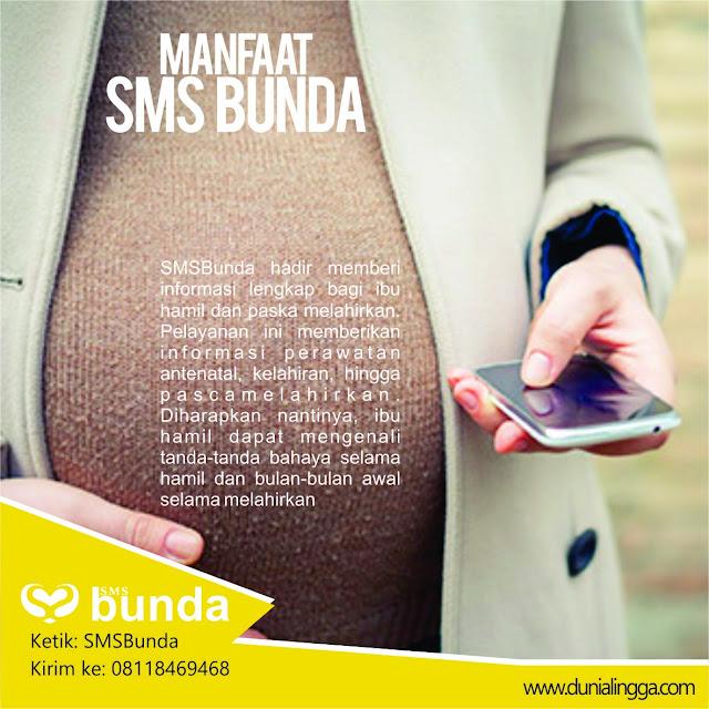 smsbunda bermanfaat untuk memberi informasi bagi ibu hamil dan melahirkan