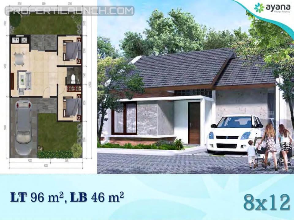 Tipe 46 Rumah Ayana Village Regency Tigaraksa
