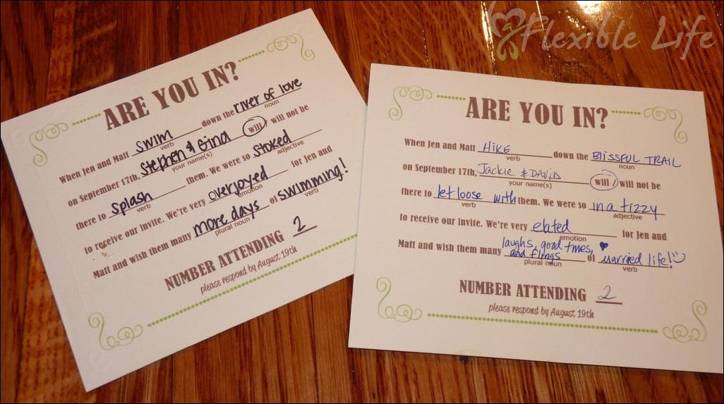 Responding To A Wedding Invitation: Wedding Bride Honeymoon