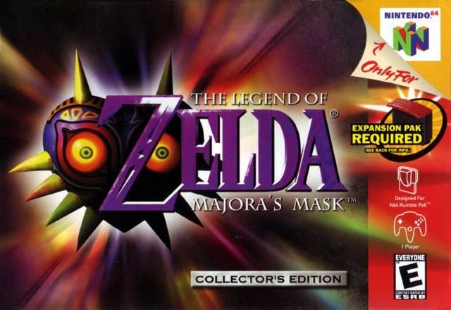 ROMs - The Legend of Zelda - Majoras Mask (Português) - N64 Download